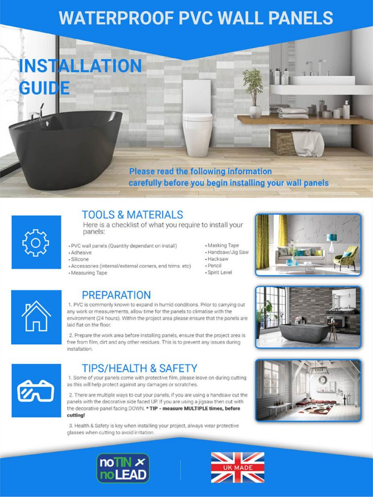 Brochures – Cascade Shower Panels